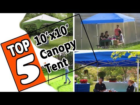 🌻-the-best-10x10-canopy-tent-2019---5-top-rated-small-canopy-shelter-tents-on-the-market-today