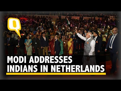 'Kaa Haal Baa?': PM Modi Addresses Indian Diaspora in Netherlands | The Quint