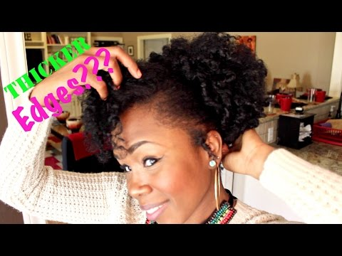 Will Hairfinity Help to Grow Thicker Edges?