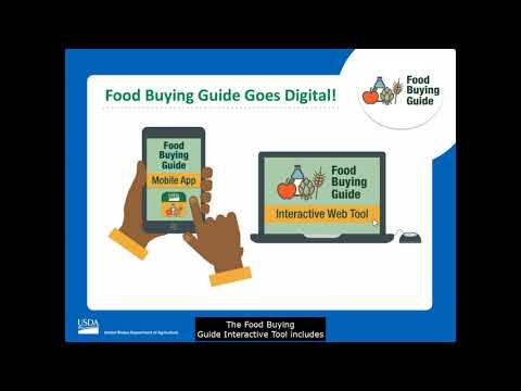 Food Buying Guide Goes Digital