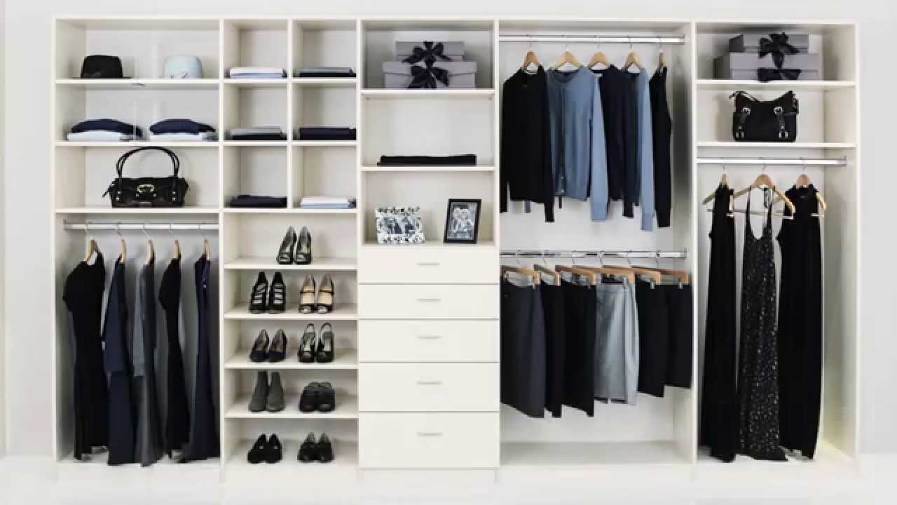 how much does a custom closet cost youtube. Black Bedroom Furniture Sets. Home Design Ideas
