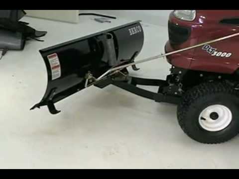 Bercomac Push Blade For Lawn Amp Garden Tractors