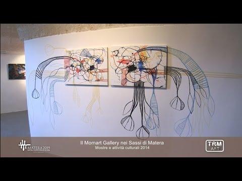 Il Momart Gallery nei Sassi di Matera