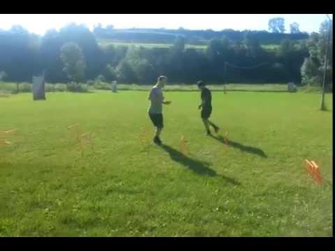Julius and Libor Hudacek training preparation