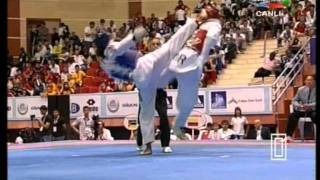 58kg Lee Dae Hoon (KOR) vs (COL) Munos Oscar (world taekwondo Qualification 2011)