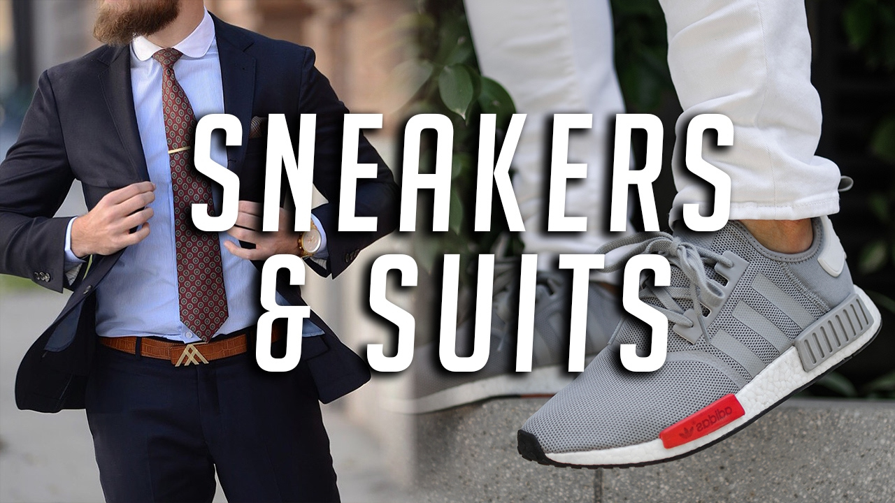 sneakers to wear with suits adidas nmd