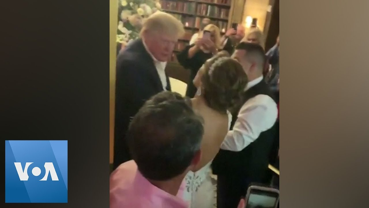 President Trump Attends Trump Hotel Wedding of White House ...