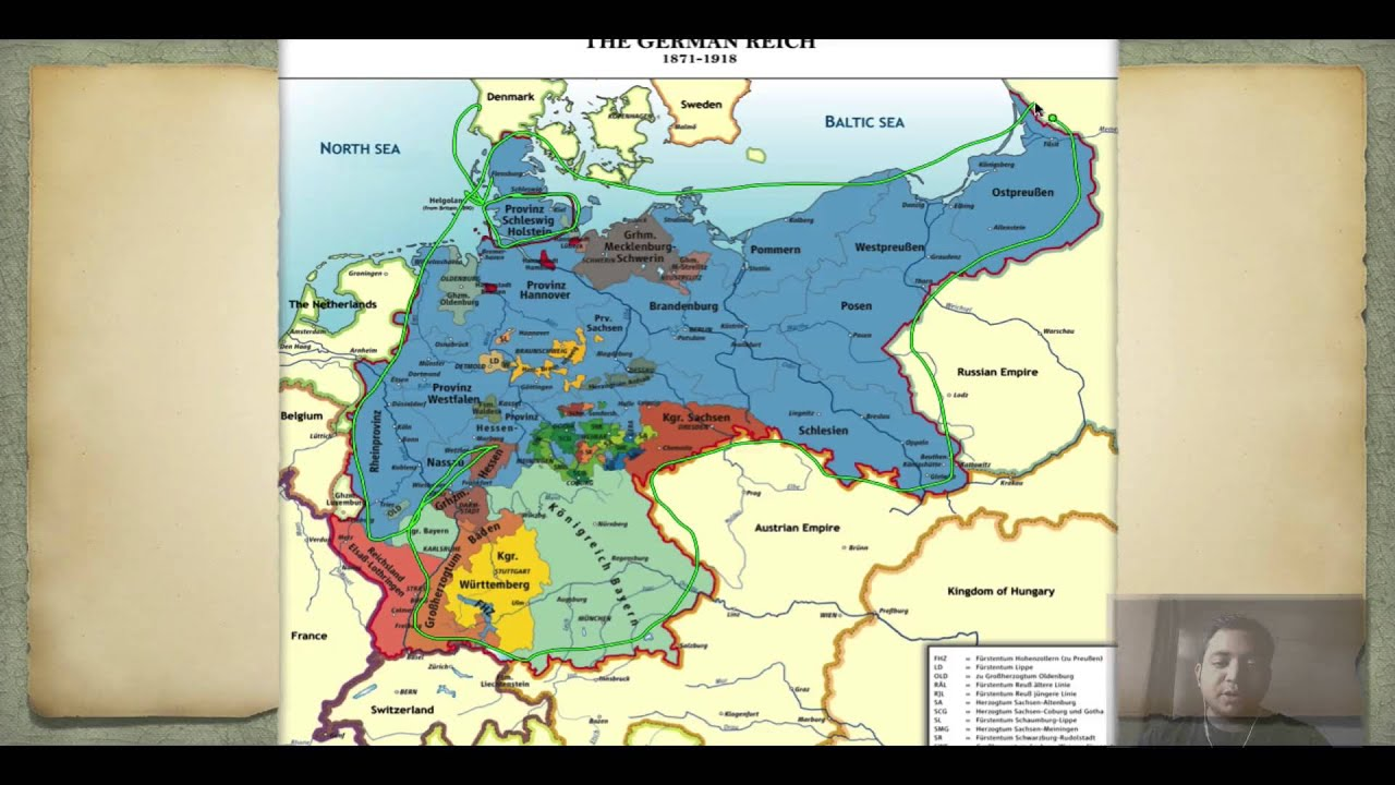 short note on unification of germany