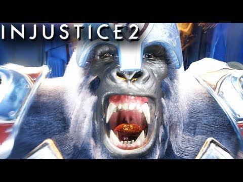Injustice 2 Gameplay German Multiverse Mode - Gorilla Grodd Story