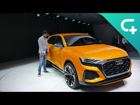 Audi Q8 Sport concept: This monster SUV is actually a hybrid
