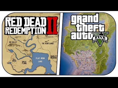 10 Reasons RED DEAD REDEMPTION 2 Is Better Than GTA 5! (RDR2 vs GTA 5 Comparison)