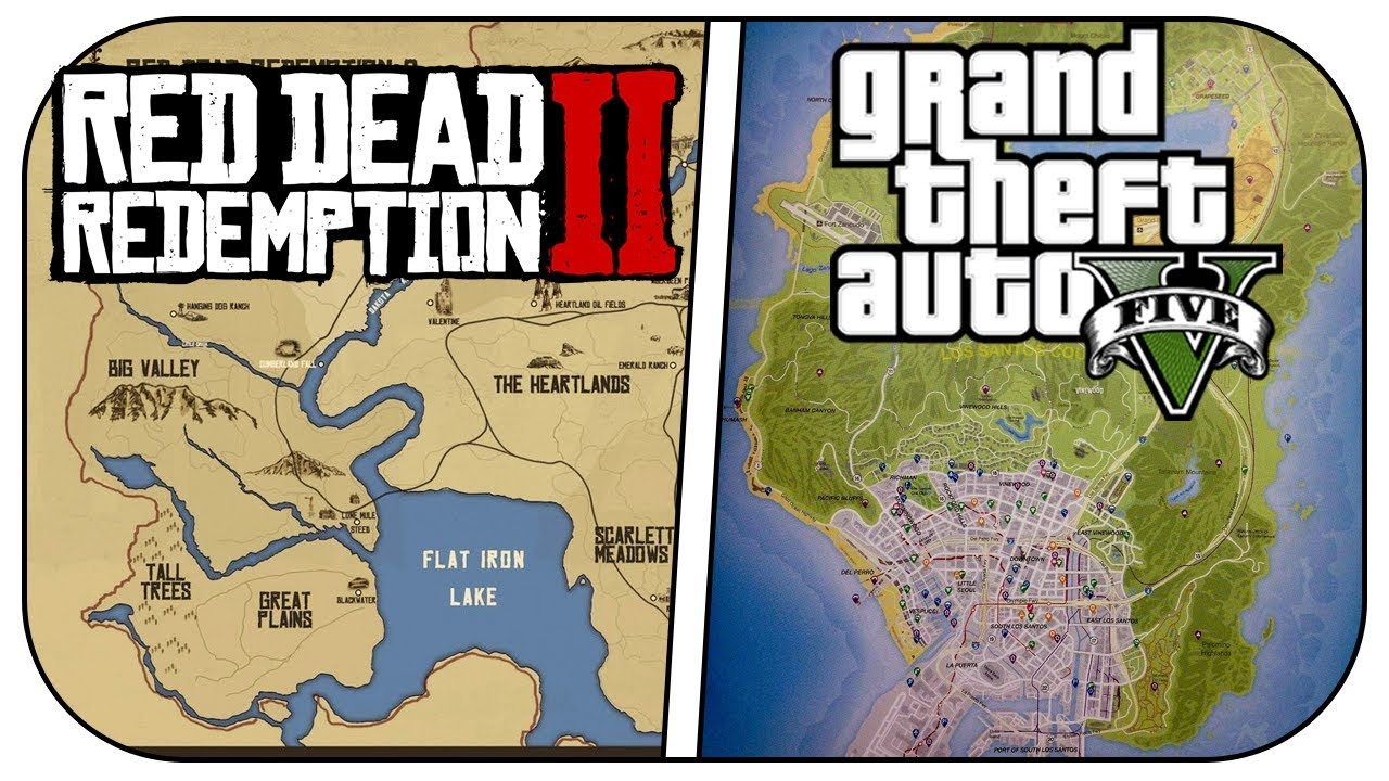 10 Reasons Red Dead Redemption 2 Is Better Than Gta 5 Rdr2 Vs Gta