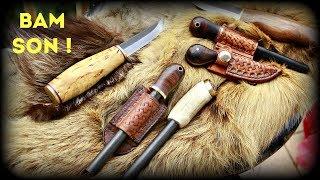 Custom Ferro Rod For JOE ROBINET BUSHCRAFT - HD Video