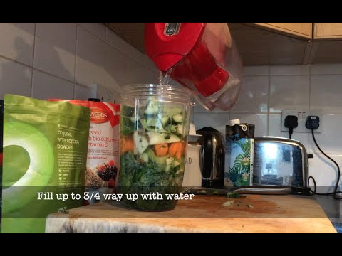 How to make a tasty Greens Drink