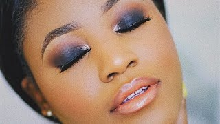 DETAILED Classic Black Smokey Eye For Beginners! (Hooded Eyes) - B2B Ep. 6 | Beauty With Vee ♡