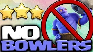 3 x BEST TH9 3 STAR ATTACK STRATEGY 2017 with NO BOWLERS | Clash of Clans