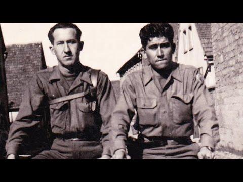 A Latino WWII Artillery Forward Observer