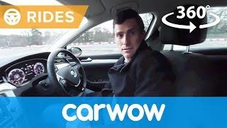 Volkswagen Passat Estate 2017 360 degree test drive | Passenger Rides