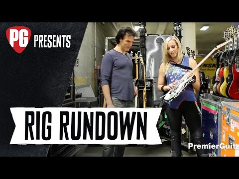 Rig Rundown - The Alice Cooper Band's Ryan Roxie, Tommy Henriksen, and Nita Strauss