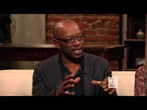 Talking Dead Lennie James must always be hidden!