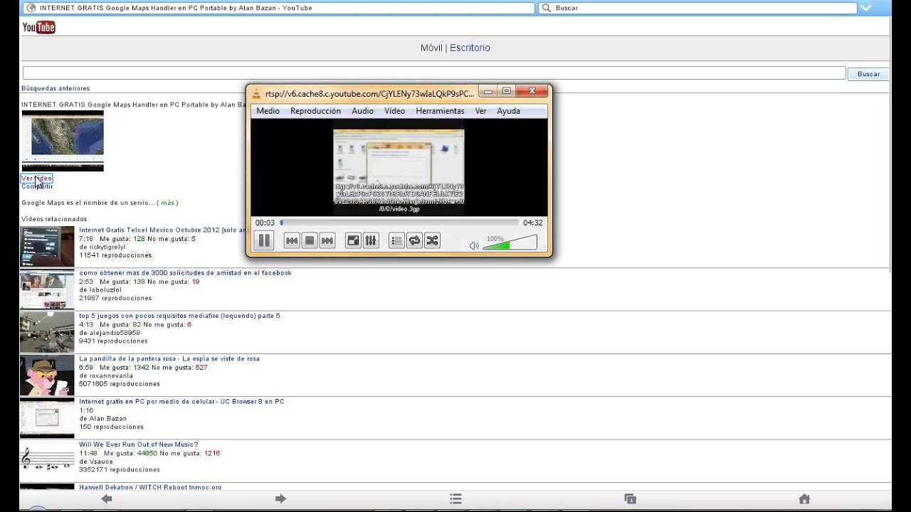 Test UC Browser 8 7 Handler for PC (Video Support)