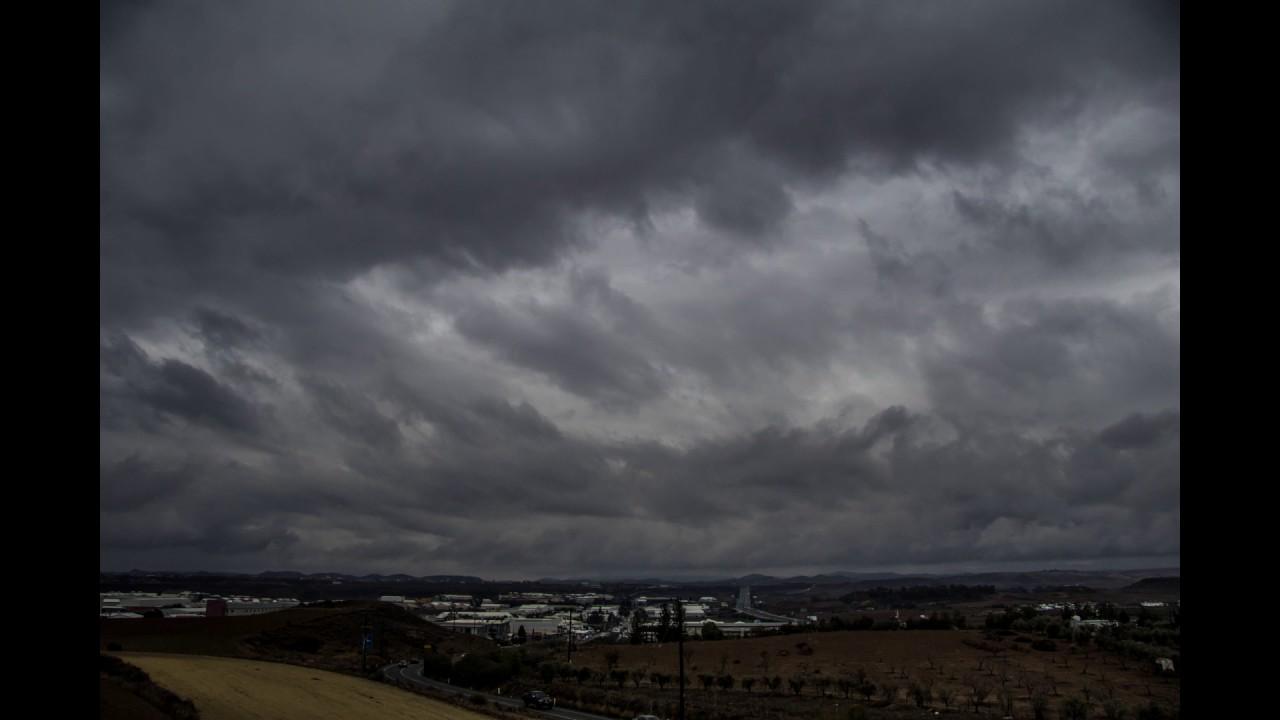 Nicosia Clouds time lapse 1.12.2016