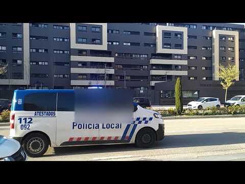 Día de felicitaciones a niños para la Policía Local de Burgos