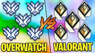 5 Overwatch Top500 VŠ 5 Radiant Valorant Players!