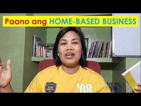 Paano magsimula ng HOME-BASED BUSINESS