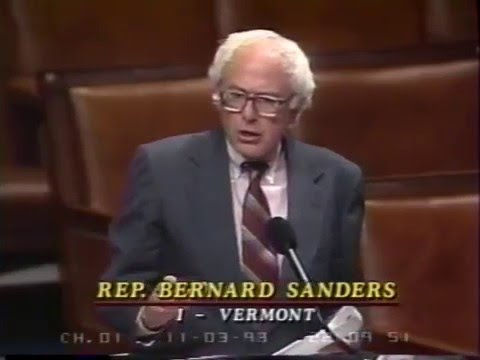 Bernie Sanders Debates House Republicans on Health Care (11/3/1993)