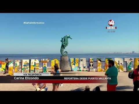 Así se vivió el grito de Independencia en Puerto Vallarta