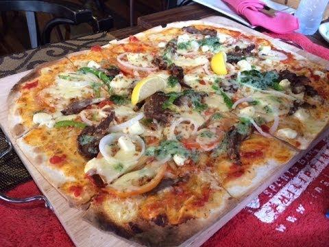 Team Insider Sports Bar Mediterranean Lamb Thin Crust Pizza Tune Hotel Makati by HourPhilippines.com