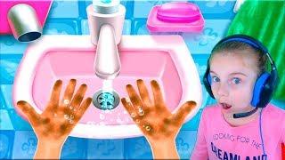 Игра для детей про банную вечеринку! Развивающее видео для детей