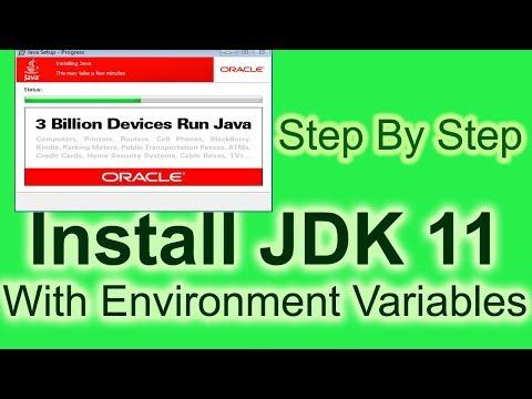 Install Java JDK 11 On Windows