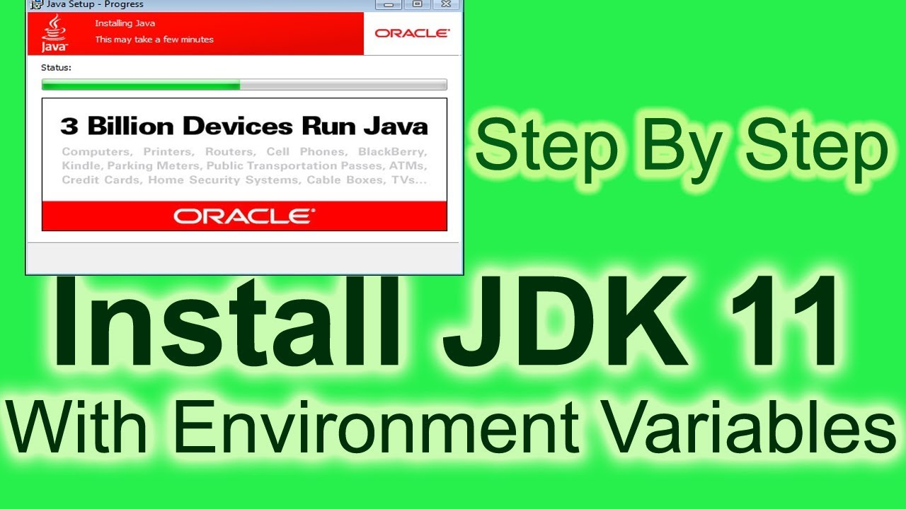 Install Java JDK 11 on Windows