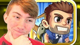 Jetpack Joyride - GOLDEN VEHICLES - Part 4 (iPhone Gameplay Video)