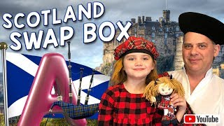 Swap Box / Exchange Box / Surprise Unboxing / Scotland / Scottish Souvenirs / Oorlittle Big Family