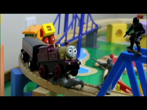 Ninjas on the Tracks! A Thomas Train Adventure starring Lady the Train