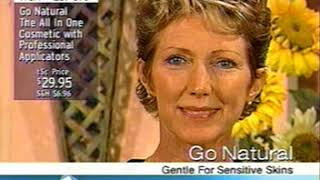 TSC Toronto Shopping Channel Appearance 1999 Launch Go-Natural The All-In-One Cosmetic Makeup Canada