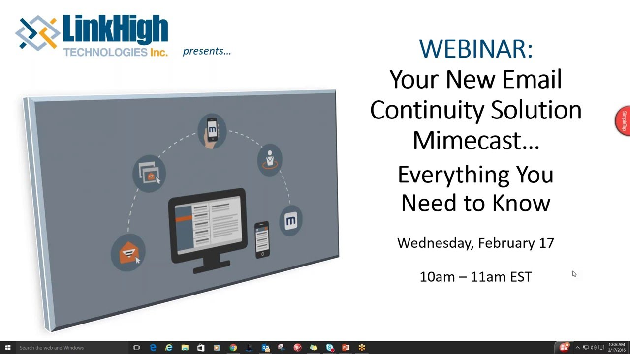 Your New Email Continuity Solution   Everything You Need to Know (Webinar Recording)