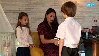 Anca Serea, agitatie cu 4 copii in prima zi de scoala