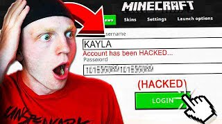 HACKING MY GIRLFRIEND'S MINECRAFT ACCOUNT!