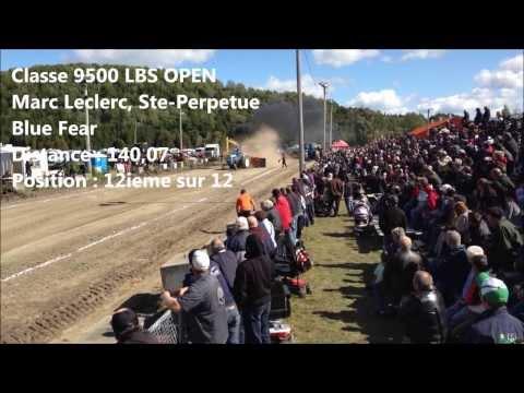 Richmond Fair Quebec 2013 - Farm Tractor Pull