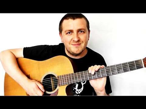 Starlight - Acoustic Guitar Lesson - Muse - Drue James