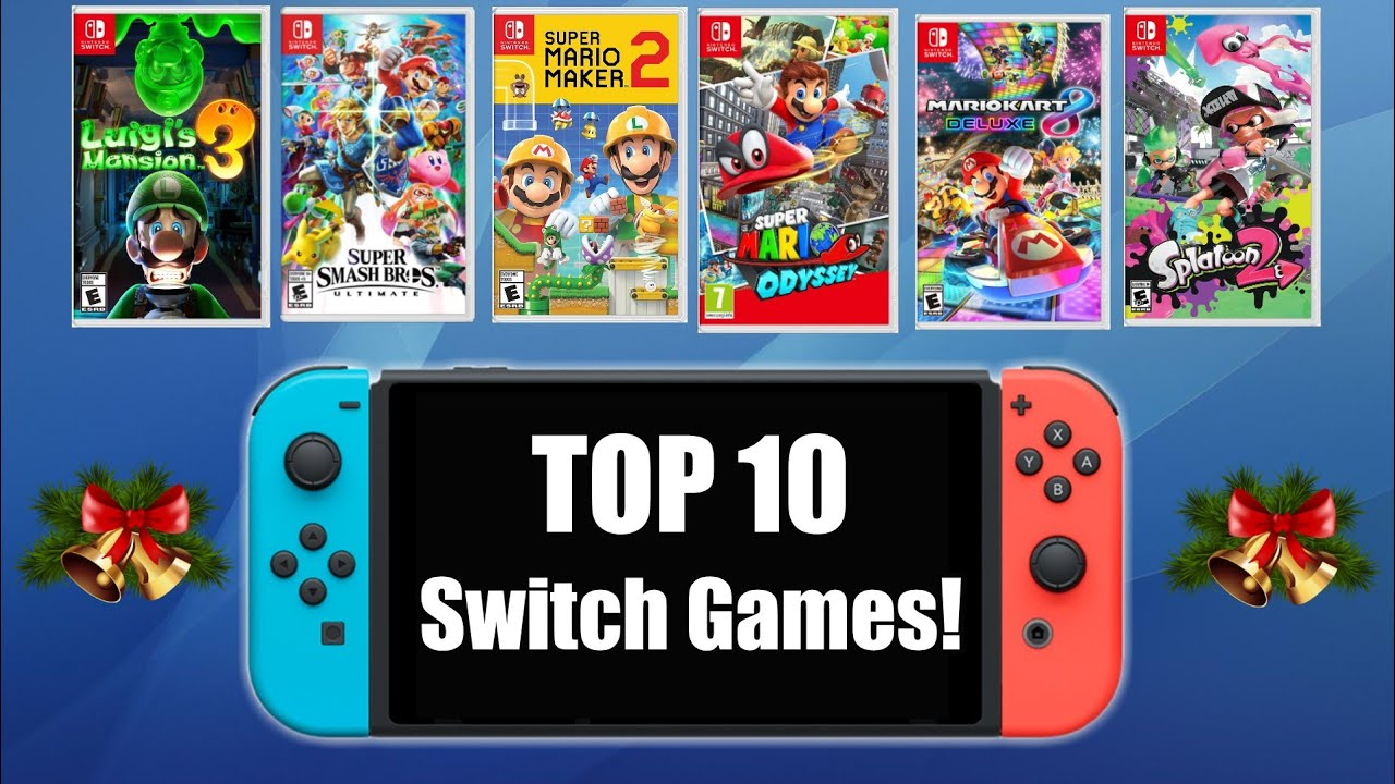 Top 10 Nintendo Switch Games You Need On Your 2019