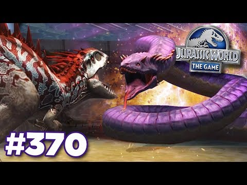 NEW BOSS TITANOBOA SNAKE!!! | Jurassic World - The Game - Ep370 HD