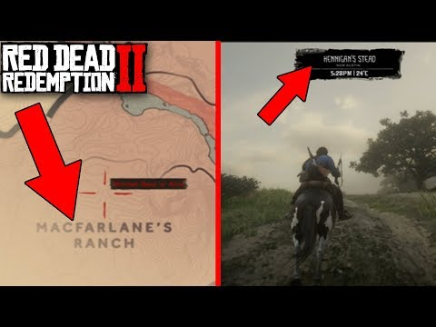 RDR2 - BLACKWATER IN CHAPTER 1! WHAT HAPPENS?