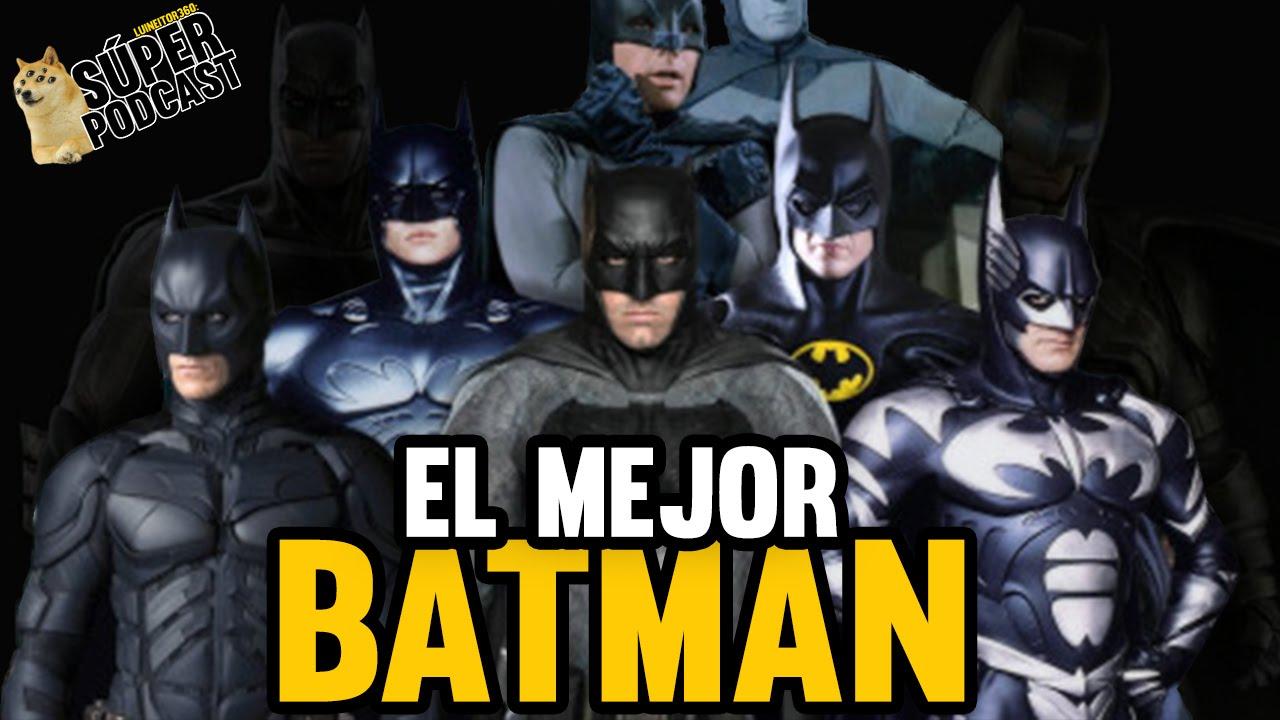 Cu l es el mejor traje de batman en las pel culas youtube for Cual es el mejor lavavajillas