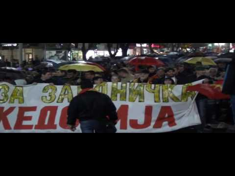 "За унитарна Македонија - Струмица кажа ""НЕ"" за двојазичност"
