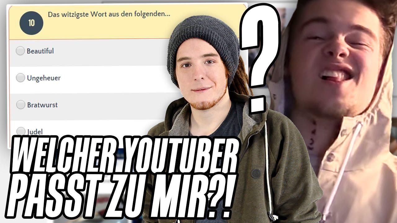 Welcher Youtuber Passt Zu Mir Dümmstes Quiz Ever Youtube